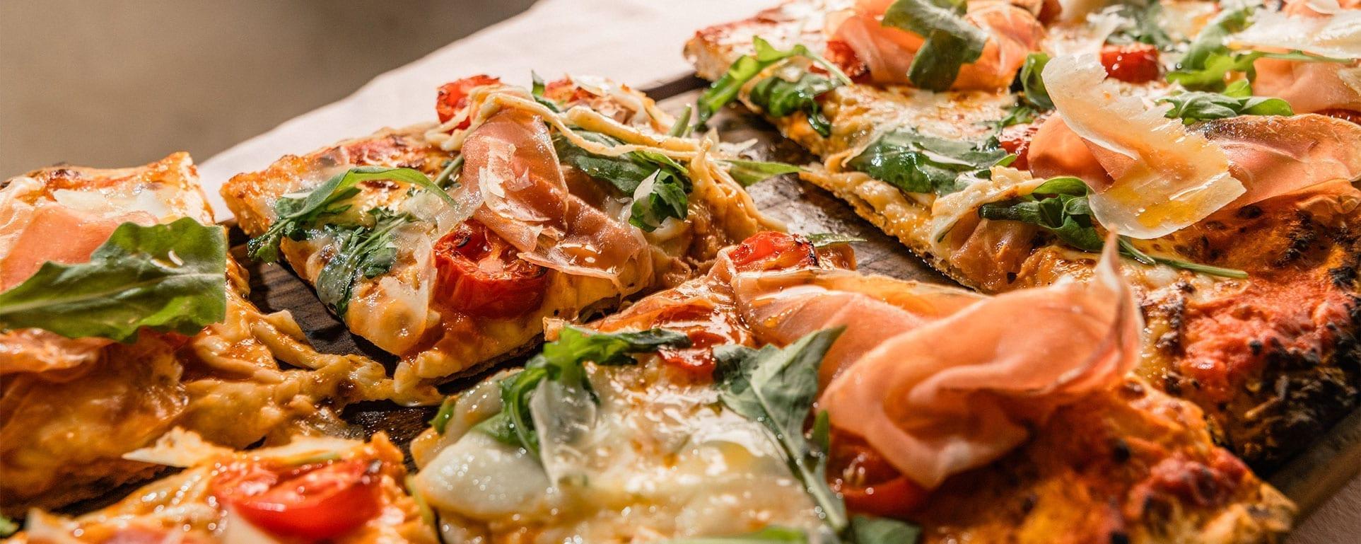 Pizza alla pala - Julius Restaurant in Schladming